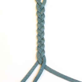 Three strand plaiting